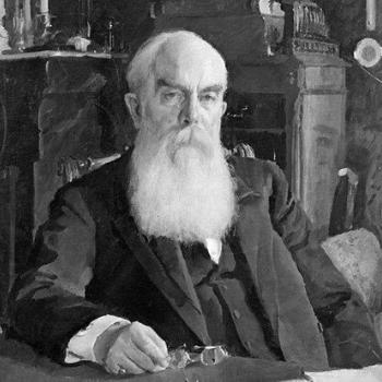 портрет А.И.Абрикосов