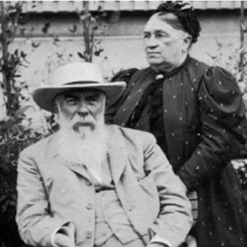 А.И.Абрикосов и Агрепина Александровна