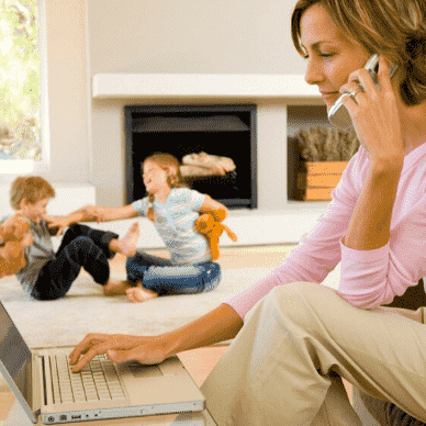 Работаешь на дому? 4 подсказки для оставаться продуктивным.