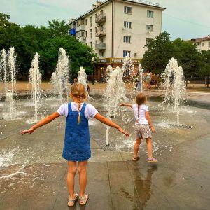 Новороссийск фонтаны